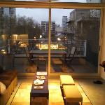 palermo loft - living area