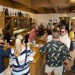 Inside Sausal Winery Tasting Room