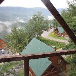 View at Smoky Mnt from our cabin
