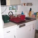 Small kitchen--no stove