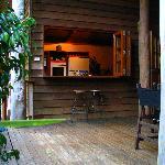 Coolara - Kitchen from deck
