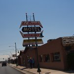 What a great find!  El Rancho Restaurant & Motel