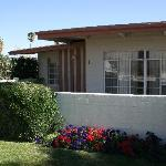 Unit #2 with front patio
