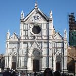 Santa Croce, where Michelangelo is buried.