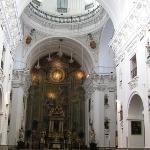 Iglesia de los Jesuitas por dentro.