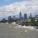 Cleveland from the pier.