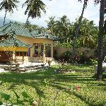 "Our villa - one of the ""Beach Villas"""
