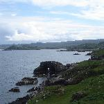 Cove,view over Loch Ewe