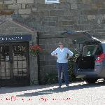 Ellerby Hotel from the car park - 'I am waiting'