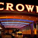 Crown Casino in Melbourne. Don't forget to bring your passport along with u. They will give AUD1