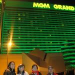In front of the MGM Grand Hotel & Casino where we met my Aunt Linda & my uncle Bob