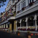 A Bavarian Hotel & Restaurant in Dusseldorf, Germany, our disembarkation port on the Rhine River