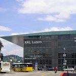 KKL Kultur und Kongresszentrum Luzern, edificio in vetro e acciaio progettato dall'architetto fr