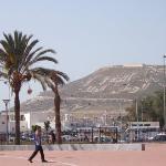 derrière la Kasbah, Maroc