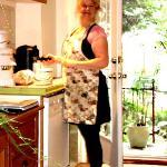Joane in kitchen