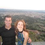 Jonathan & Deb in Fiesole