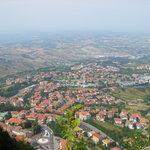 dalla funivia di San Marino