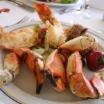 Lobster and stone crab