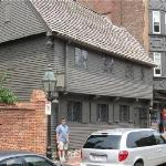 The home of Paul Revere (fully restored aroud 1908). This building was almost razed around 1900,