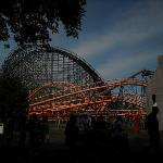 Rollercoasters at LaRonde - operated by Six Flags.