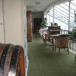 Hotel Blume (Baden) - oldish corridor upstairs