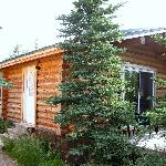 Our cabin and porch