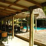 Kosrae Nautilus pool & restaurant