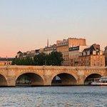 Pont Neuf (New Bridge) in Paris where David proposed.