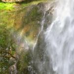 Rainbow in Multnomah Falls Columbia Gorge, OR