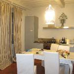 I Terrazzini - kitchen dining room