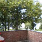 Zi. 17 mit Terrasse und Blick auf die Aussenalster