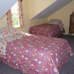 Upstairs bedroom - 2 single bed