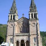 Covadonga, well worth a visit, just a drive from Poo.