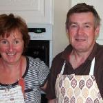 Camilla & John Browne -- great hosts!