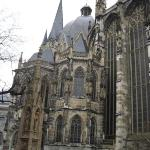 Aachen church very ancient city