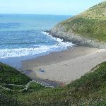 Mwnt sands