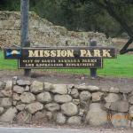 Old Mission Santa Barbara ภาพถ่าย