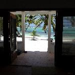 View from our Cabana doors