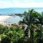 Strandblick aus Bungalow 5