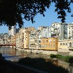 Girona: Houses along the River Onyar