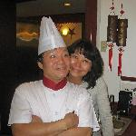 """Chef Nei' Chia Ji and Longtime Assistance """"Wing"""""""