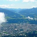 Innsbruck city from the top