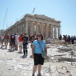 This was taken at the Acropolis and it is for Jack's desk!