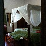 all'interno del bungalow