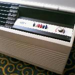 Old-time AC Unit with control buttons