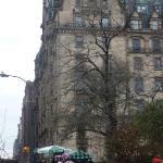 Dakota Apartments.. John & Yoko lived on the top floor.. she still lives there..