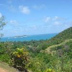 Curieuse Island (View from Praslin)