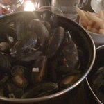The mussels and chips - outstanding!