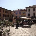 The Piazza outside the hotel