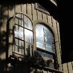 window from the garden